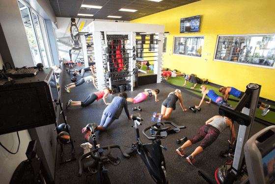 Group Fitness Studio at Purlife Delray