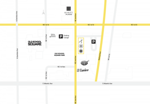 Delray Beach Gym Map